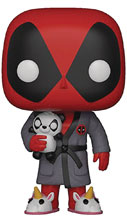 Image: Pop! Marvel Deadpool Vinyl Figure: Parody Deadpool in Robe  - Funko