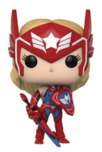 Image: Pop! Marvel Future Fight Vinyl Figure: Sharon Rogers  - Funko