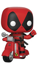 Image: Pop! Rides Deadpool & Scooter  - Funko