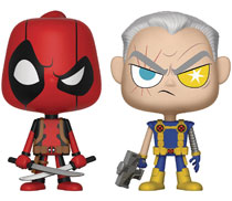 Image: Vynl Marvel Comics Vinyl Figure 2-Pack: Deadpool & Cable  - Funko