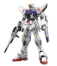 Image: Gundam F91 Ver 2.0 Gundam F91 MG Model Kit  (1/100 scale) - Bandai Hobby