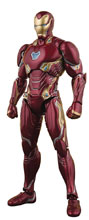 Image: Avengers: Infinity War S.H.Figuarts Action Figure - Iron Man Mk50  - Tamashii Nations