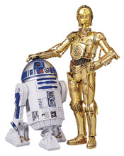 Image: Star Wars Model Kit: C-3PO & R2-D2  (1/12 scale) - Bandai Hobby