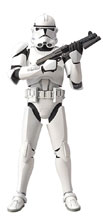 Image: Star Wars Model Kit: Clone Trooper  (1/12 scale) - Bandai Hobby