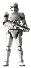 Image: Star Wars Model Kit: First Order Stormtrooper  (1/12 scale) - Bandai Hobby