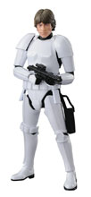 Image: Star Wars Model Kit: Luke Skywalker Stormtrooper  (1/12 scale) - Bandai Hobby