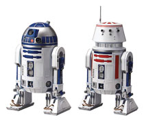 Image: Star Wars Model Kit: R2-D2 & R5-D4  (1/12 scale) - Bandai Hobby