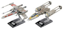 Image: Star Wars Model Kit: X-Wing & Y-Wing Starfighter  (1/144 scale) - Bandai Hobby