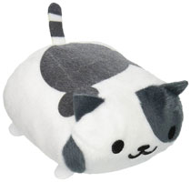 Image: Neko Atsume Plush: Speckles Nosekotto  (4-inch) - Little Buddy, LLC