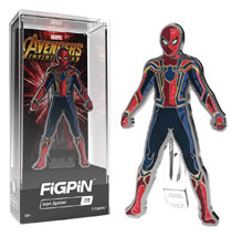 Image: Figpin Marvel Avengers: Infinity War - Spider-Man Figure Pin 6-Piece Case  - Cmd Collectibles