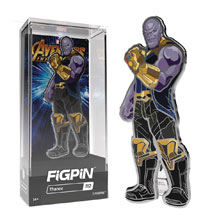 Image: Figpin Marvel Avengers: Infinity War - Thanos Figure Pin 6-Piece Case  - Cmd Collectibles
