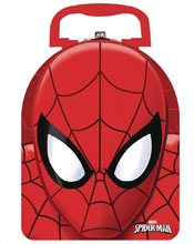 Image: Spider-Man Arch Tin Carry All 12-Piece Assortment  - The Tin Box Company