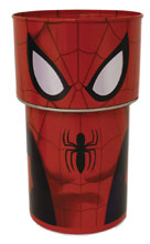 Image: Spider-Man Bobble Head Tin Bank 12-Piece Assortment  - The Tin Box Company