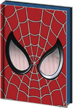 Image: Spider-Man Web-Head Metal/PVC Embellished Journal 10-Piece Display  - Pyramid America, Lp