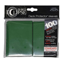 Image: Pro Matte Eclipse 2.0 Deck Protectors - 100-Count  (Forest Green) - Ultra Pro International