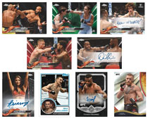 Image: Topps 2018 UFC Chrome Card Box  - Topps Company