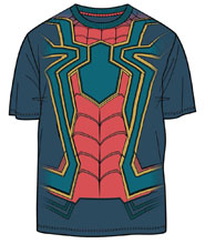Image: Avengers: Infinity War T-Shirt - I Am Iron Spider [Navy]  (XL) - Mighty Fine