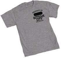 Image: Gotham City Athletic Dept. T-Shirt  (S) - Graphitti Designs