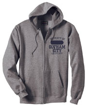 Image: Gotham City Athletic Dept. Hoodie  (XXL) - Graphitti Designs