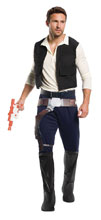Image: Star Wars Costume: Han Solo [Male]  (Std) - Rubies Costumes Company Inc