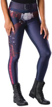 Image: Star Wars Costume: Han Solo  (Adult Leggings) - Rubies Costumes Company Inc