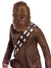 Image: Star Wars Costume: Chebacca Mask  (w/Fur) - Rubies Costumes Company Inc