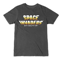 Image: Space Invaders T-Shirt: Japanese Logo  (M) - The Forecast Agency