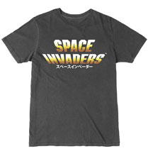 Image: Space Invaders T-Shirt: Japanese Logo  (XL) - The Forecast Agency