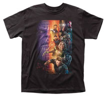 Image: Avengers: Infinity War T-Shirt - Movie Poster [Black]  (L) - Impact Merchandising