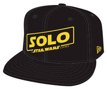 Image: Star Wars: Solo 9Fifty Snap Back Cap: Logo  - New Era Cap Co