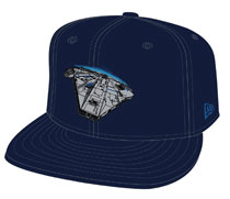 Image: Star Wars: Solo 9Fifty Snap Back Cap: Millenium Falcon  - New Era Cap Co