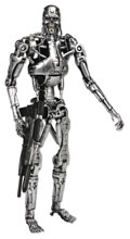 Image: Terminator Classic Endoskeleton 7-Inch Scale Action Figure  (T-800) - Neca