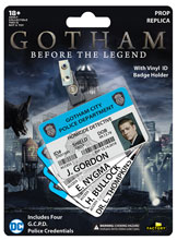 Image: Gotham City Police Department ID Badge Replica Prop Set  - Factory Entertainment