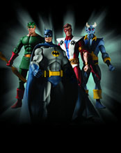 Image: History of the DC Universe Series 1 Action Figure Set  (4) -