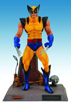 Image: Marvel Select Action Figure: Wolverine  (Yellow Costume) -