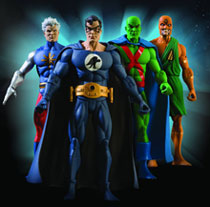 Image: History of the DCU Series 4 Action Figure Set  (4) -