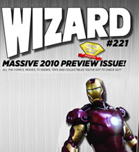 Image: Wizard Magazine #221 (Iron Man 2 cover) - Wizard Entertainment