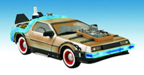 Image: Back to the Future III 1/15th Scale Time Machine  (Delorean) -