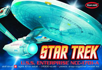 Image: Star Trek U.S.S. Enterprise NCC-1701 Refit 1/1000 Scale Model Kit  -