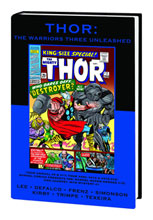 Image: Marvel Premiere Classic 63: Thor - The Warriors Three Unleashed HC  - Marvel Comics