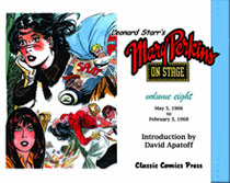 Image: Leonard Starr's Mary Perkins on Stage Vol. 08 SC  - Classic Comics Press