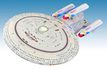 Image: Star Trek: All Good Things - Enterprise D Ship  - Diamond Select Toys