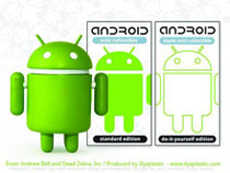 Image: Android Vinyl Figure 16-Piece BMB Display Series 02  -