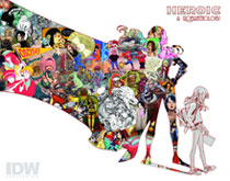 Image: Womanthology Heroic HC  - IDW Publishing