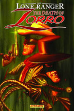 Image: Lone Ranger/Zorro Vol. 01: Death of Zorro SC  - D. E./Dynamite Entertainment