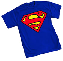 Image: Superman: 52 Symbol T-Shirt  (L) - Graphitti Designs