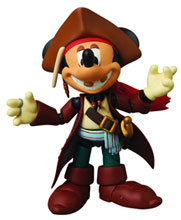 Image: Mickey Mouse Miracel Action Figure: Jack Sparrow Version  -