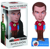 Image: Big Bang Theory Wacky Wobbler Bobble-Head: Sheldon  -