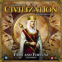Image: Civilization: Fame and Fortune Board Game Expansion  - Fantasy Flight Publishing Inc