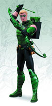 Image: DC Comics New 52 Justice League Action Figure: Green Arrow  - DC Comics